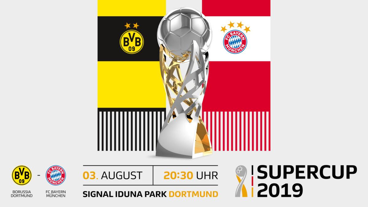Supercup 2019, Borussia Dortmund, FC Bayern Muenchen