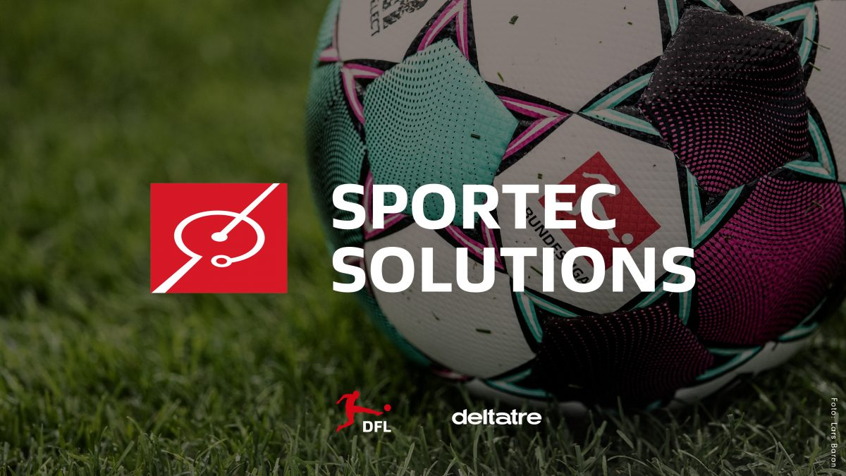 Logo Sportec Solutions: DFL und Deltatre bauen Partnerschaft weiter aus