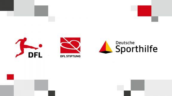 Logos DFL, DFL Stiftung, Deutsche Sporthilfe