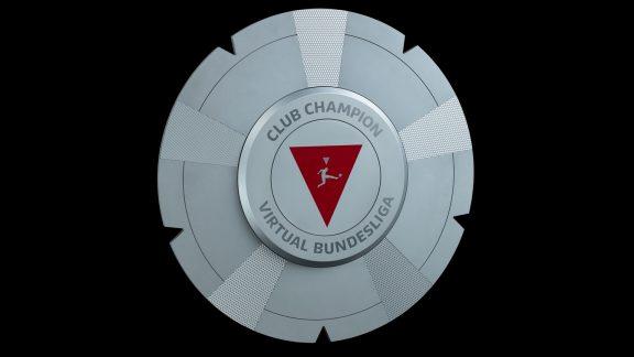 Meisterschale Virtual Bundesliga Club Championship