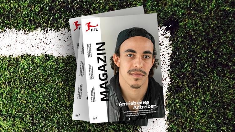 DFL MAGAZIN 02|2021 - Cover mit Yussuf Poulsen