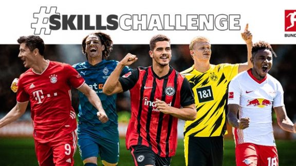 Visual Promotion Bundesliga TikTok #Skillchallenge