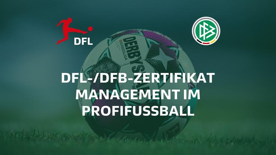 "Zertifikatsprogramm ""Management im Profifußball"""