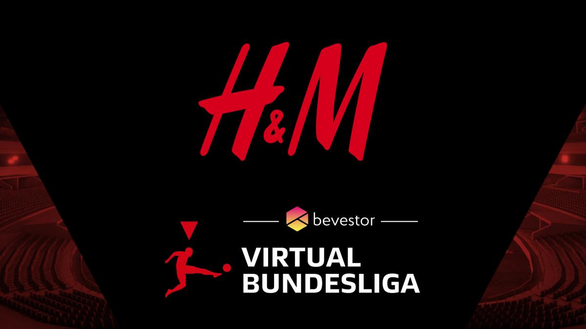 H&M Deutschland wird offizieller Premium Partner der bevestor Virtual Bundesliga