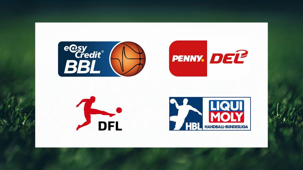 Logos der Initiative Profisport Deutschland