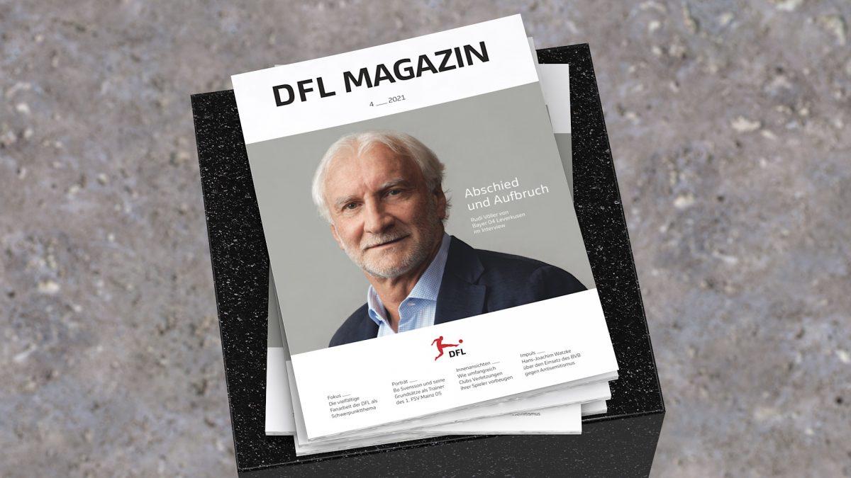 DFL MAGAZIN 4_21 mit Rudi Völler auf dem Cover