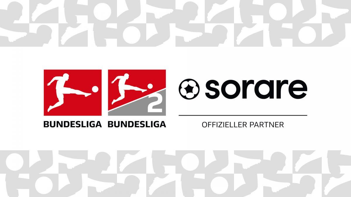 Logos der Bundesliga, 2. Bundesliga und von Sorare