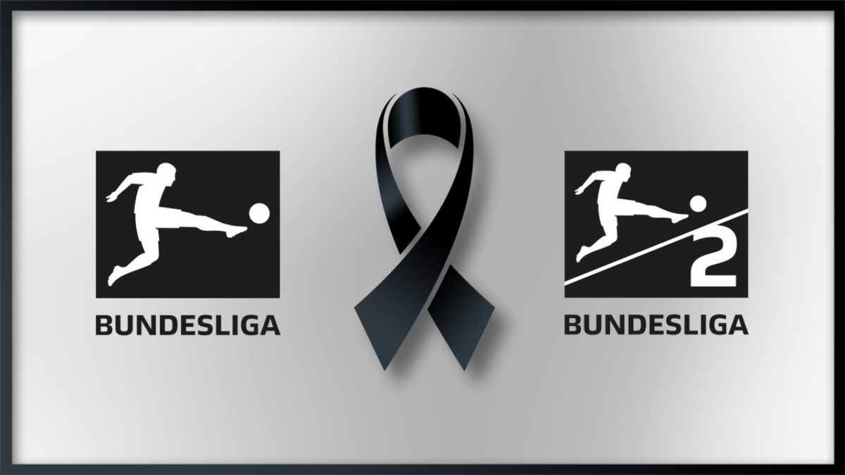 Black ribbon: German professional football expresses its condolences