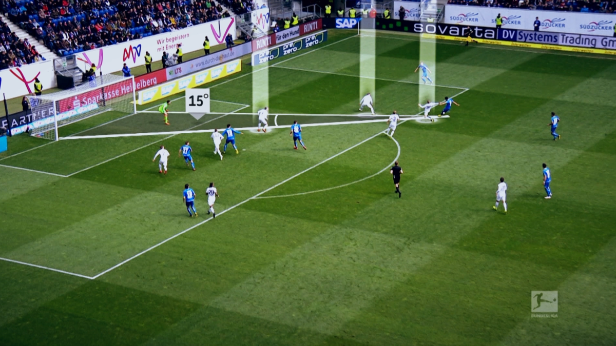 The xGoals model shows the probability of a goal whenever a player shoots.