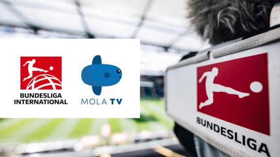 Bundesliga International and Mola TV have agreed to a long-term broadcasting deal
