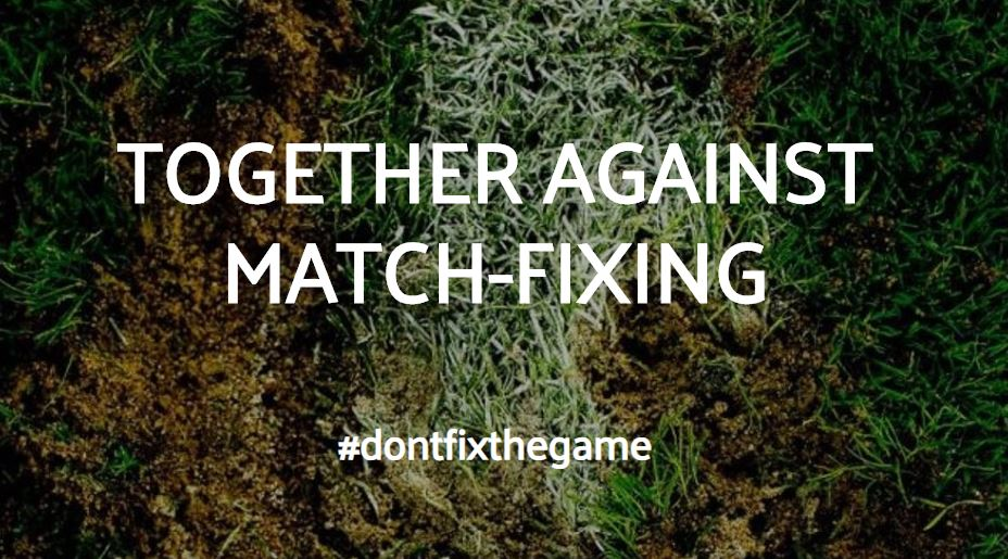 """Together against match-fixing"" project site"
