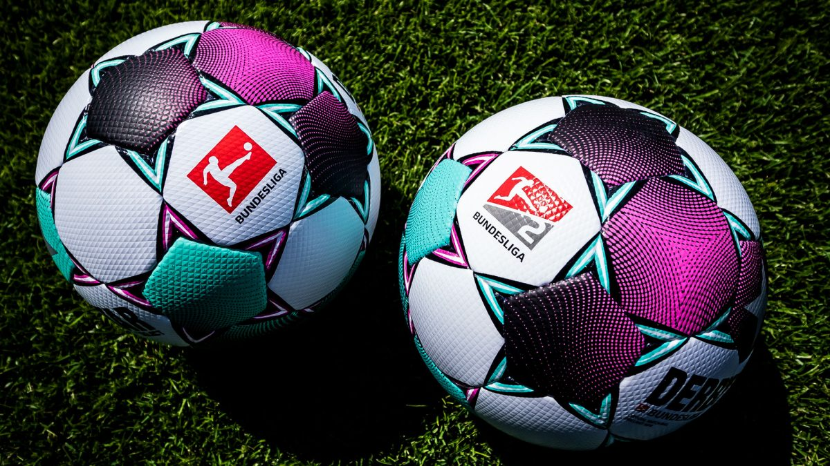 Derbystar matchballs Bundesliga and Bundesliga 2