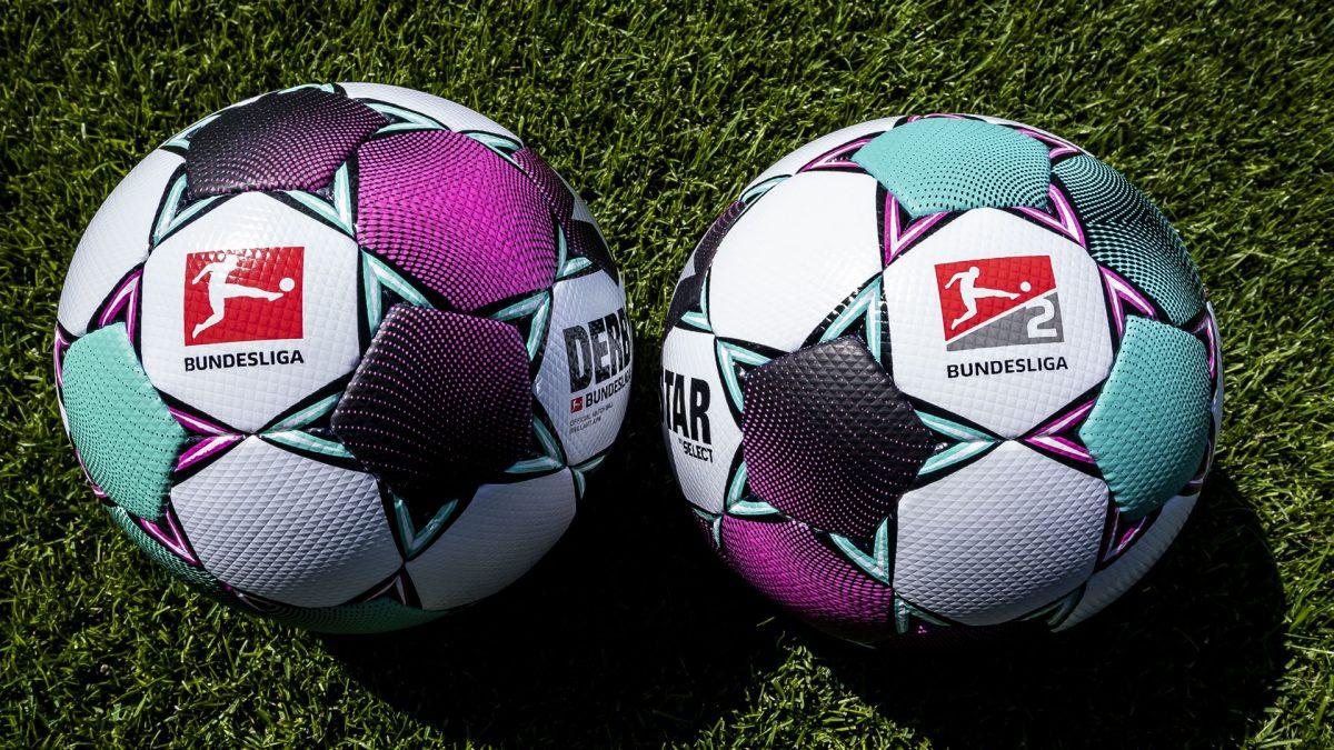 Derbystar matchball Bundesliga and Bundesliga 2