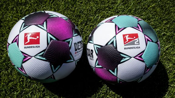 Derbystar matchball Bundesliga and Bundesliga 2