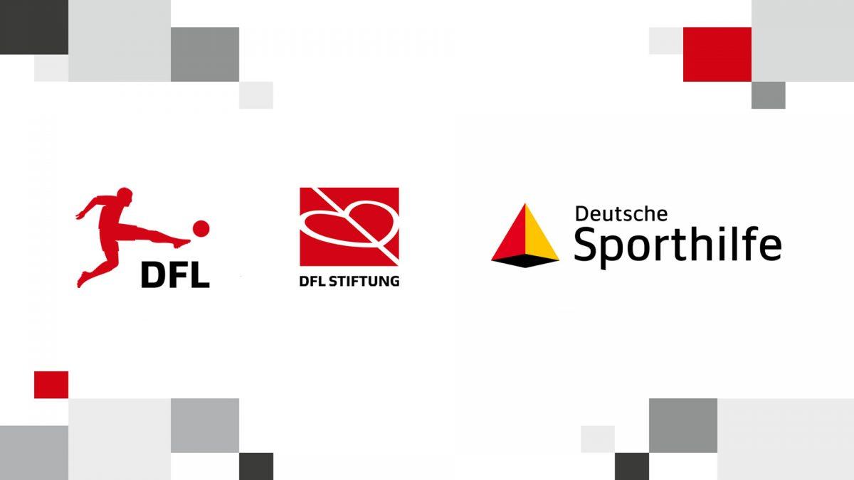 Logos DFL, DFL Foundation and German Sports Aid Foundation