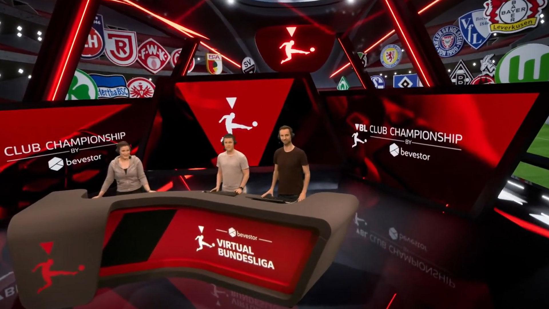 Virtual studio - VBL Club Championship