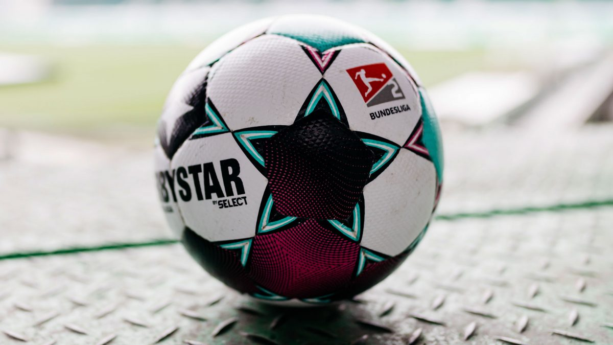 DERBYSTAR official match ball Bundesliga 2