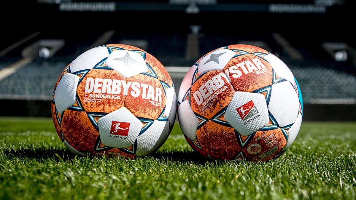 Official Match Balls Bundesliga and Bundesliga 2 from DERBYSTAR