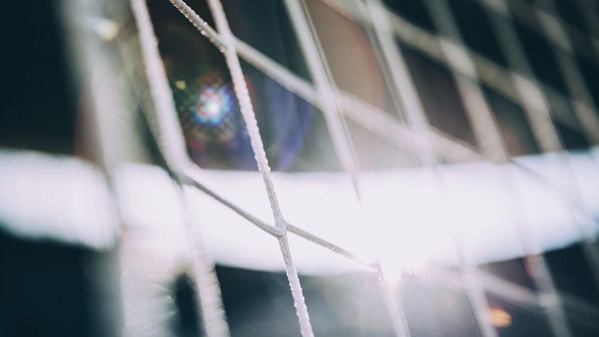 Goal net macro shot